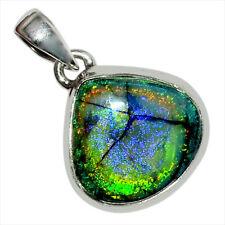 Sterling Opal 925 Sterling Silver Pendant Jewelry 28461P