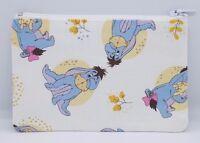 Winnie the Pooh 'Eeyore' Fabric Handmade Zippy Coin Money Purse Storage Pouch