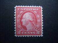 1919 #540 2c Washington Perf 11 x 10 Type III  MNH OG VF CV $27.50