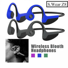 S.Wear Z8 Bone Conduction Earphone Headphones Wireless Bluetooth Headsets W/mic