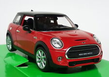 Nex Models 1/24 Scale - BMW Mini Cooper S Red Black Roof Diecast model car