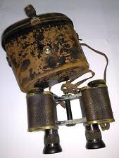 Vintage Carl Zeiss Jena TELACT binoculars 8X German S/N 156365