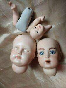 Porcelain Dolls Heads for Crafting