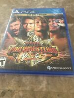 Fire Pro Wrestling World - PlayStation 4 PS4 NEW! Fast Free Shipping