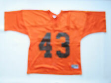 Chicago Bears #43 Practice Jersey NFL Football Orange Size Adult S M - NOS