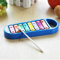Hand Knocks 8-Note Xylophone Kid Musical Toys Preschool Toddler Baby Toy Blue