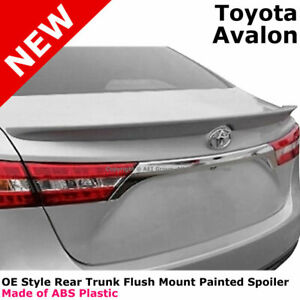For 13-16 Toyota Avalon Painted Rear Trunk Spoiler ATTITUDE BLACK METALLIC 218