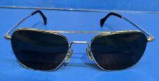 VTG 1970's AO American Optical 99 Aviator Chrome Pilot Sunglasses 5-1/2 Silver
