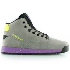 SUPRA BACKWOOD BOOTS..UK 10..S76012 NEW BNIB SUEDE HI TOPS TRAINERS LACED SHOES