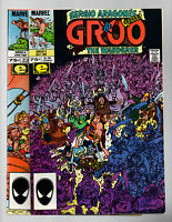 Groo The Wanderer #3, 4 Sergio Aragones Marvel 1985 High Grade NM- to NM