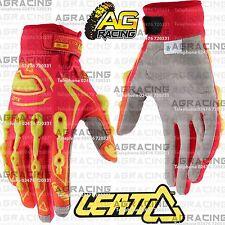 Leatt GPX 5.5 Lite Red Yellow Gloves Adult X-Large XL Motocross Enduro Quad ATV