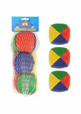 3 COLOURED JUGGLING BALLS/TOY GAMES