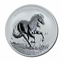 2020 Australia $1 1 oz Silver Brumby Coin GEM BU Brilliant Uncirculated