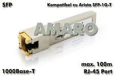 Arista sfp-1g-t Comp sfp 1g t rj-45 100m copper cuivre transmetteur