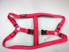 New Red Large No Pull Padded Comfort Nylon Dog Walking Harness for All Dogs