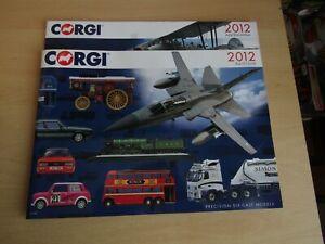 Corgi Aviation Archive brochures (2012)