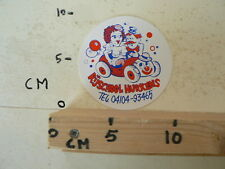 STICKER,DECAL RIJSCHOOL HURKENS PIN-UP GIRL WHITE