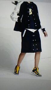 Nike Lab X Sacai Windrunner Women's Skirt 802264 451 Sz M New
