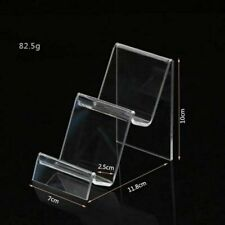 Acrylic Transparent Display Shelf Mobile book Wallet Glasses Rack  Cellphone