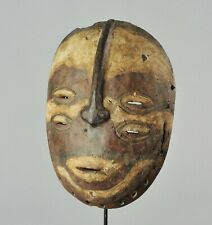 Très rare Masque d'initiation BEMBE CONGO  Mask African Tribal Art Africain 1301