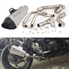 Exhaust System for Kawasaki Z250 Z300 Ninja 250 300 Motorcycle Header 51 Muffler