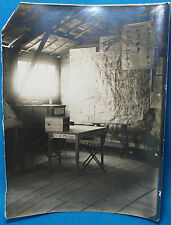 WWI US Army Air Service Intelligence Unit HQ 1st Air Corps Photo France 1918