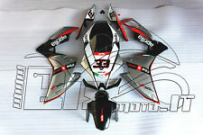 CARENE ABS APRILIA RS4  50 - 125  2011/012/013/14 DESIGN SILVER BLACK NUOVE