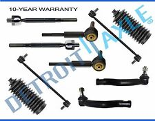 NEW 10pc Front & Rear Sway Bar + Tie Rod & Boot Kit for 2006 - 2015 Toyota RAV4