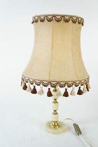 MHN 861/57 Tischlampe ähnlich Alabaster warmes Licht Stilmöbel Design Lampe