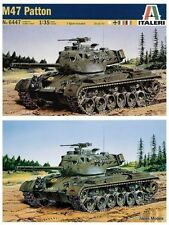 M47 PATTON 1 Figure Included Italeri No.6447 1/35 Model Kit Nuovo New