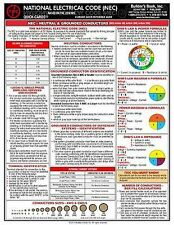 2014 National Electrical Code Laminated Quick-Card, Free Shipping BRAND NEW