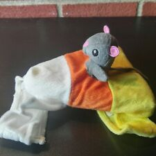 Mouse Rider on Candy Corn Pet Halloween Costume