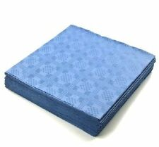 25 x Sheets ROYAL BLUE SQUARE Disposable Table Cloths Covers  Parties Wedding