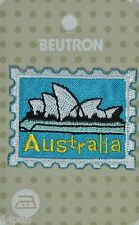 BEUTRON Iron On Motif Applique Australia Stamp BM6171 Sydney Opera House NEW