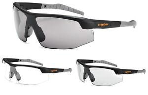 Ergodyne Skullers® Sköll Safety Glasses, Fog-Off™ Coated (Clear, I/O, Smoke)
