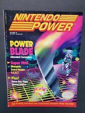1991 NINTENDO Power Volume 23 magazine Sim City Poster attached  Power Blade NM