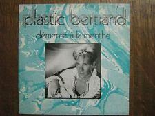 PLASTIC BERTRAND 45 TOURS BELGIQUE DEMENTE A LA MENTHE
