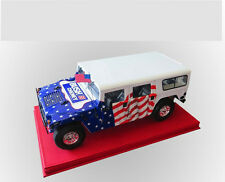 EXOTO 1:18 Hummer Bush campaign American flag Version alloy car model