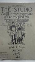 THE STUDIO an illustrated magazine of fine art & applied art dec. 15 1903