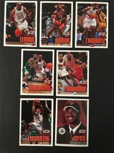 1999/00 NBA Hoops Miami Heat Team Set 7 Cards