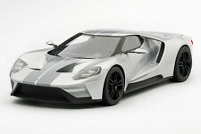 Top Speed 1/18 Ford Gt 2015 Chicago Auto Show Ingot Silver Ts0011 Tsm
