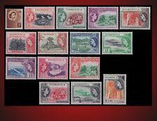 1954 DOMINICA DEFINITIVES COCOA BOTANICAL GARDENS LIME, PLANTATION SCT. 142 -156