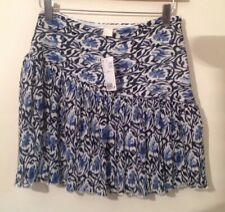 hm mini skirt 8 Blue Floral NEW With tags H&M SKIRT NEW RRP £19.99