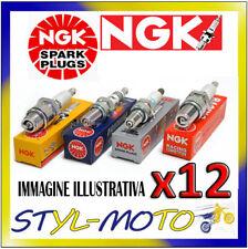 KIT 12 CANDELE NGK SPARK PLUG BR7EF JAGUAR XJ12 6.0 V12 1994