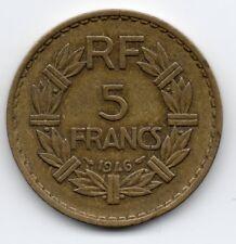 France - Frankrijk - 5 Franc 1946