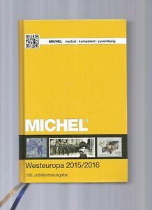 MICHEL Katalog Westeuropa 2015/2016 (Band 6 der Europareihe)