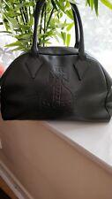 Vivienne westwood black genuine leather bag