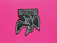 LED ZEPPELIN SMALL STITCHED PATCH UK IMPORT  IRON - ON SWAN SONG