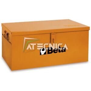 Baule portautensili in lamiera Beta C22BL O cassa porta attrezzi 1010x410xh400 m