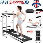 Manual Mechanical Folding Treadmill Cardio Exercise Walking Running Machine